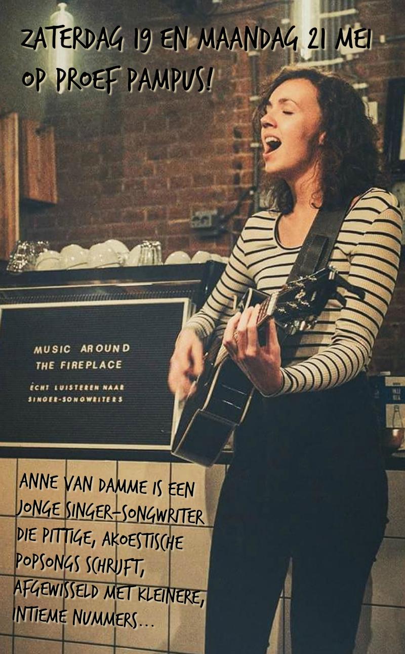 Anne van Damme op Proef Pampus!