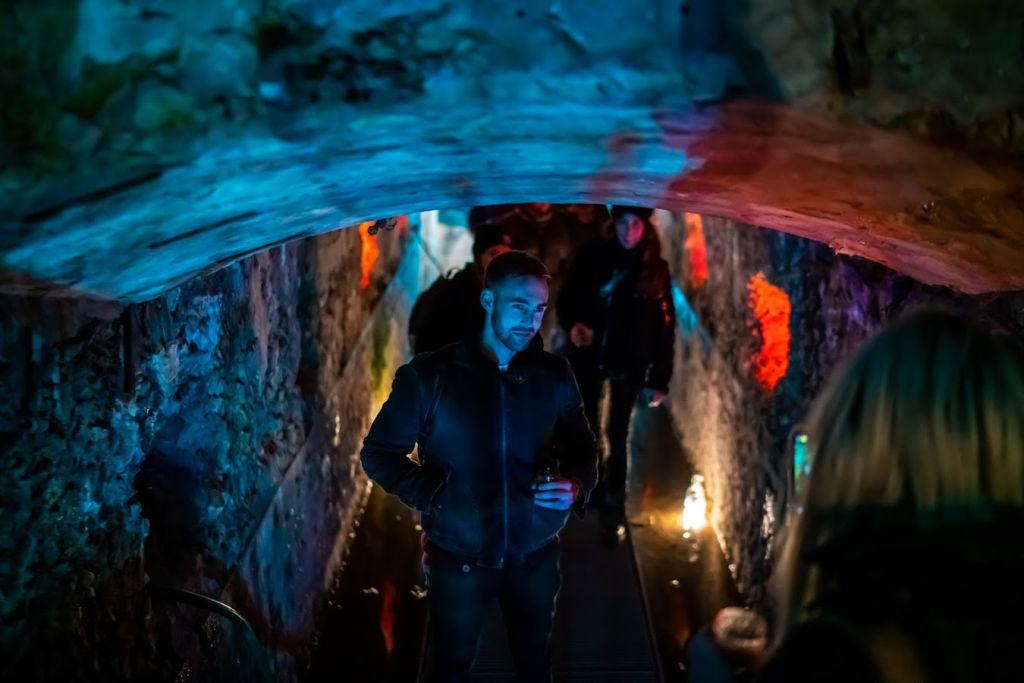 Winterlicht een pop-up restaurant op Forteiland Pampus met een wandeling door het uitgelichte fort.