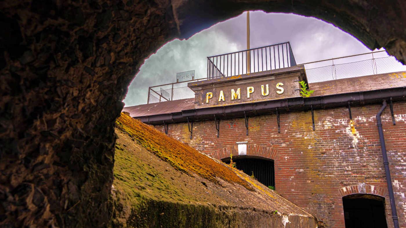 Eindeloos Pampus - PAMPUS letters