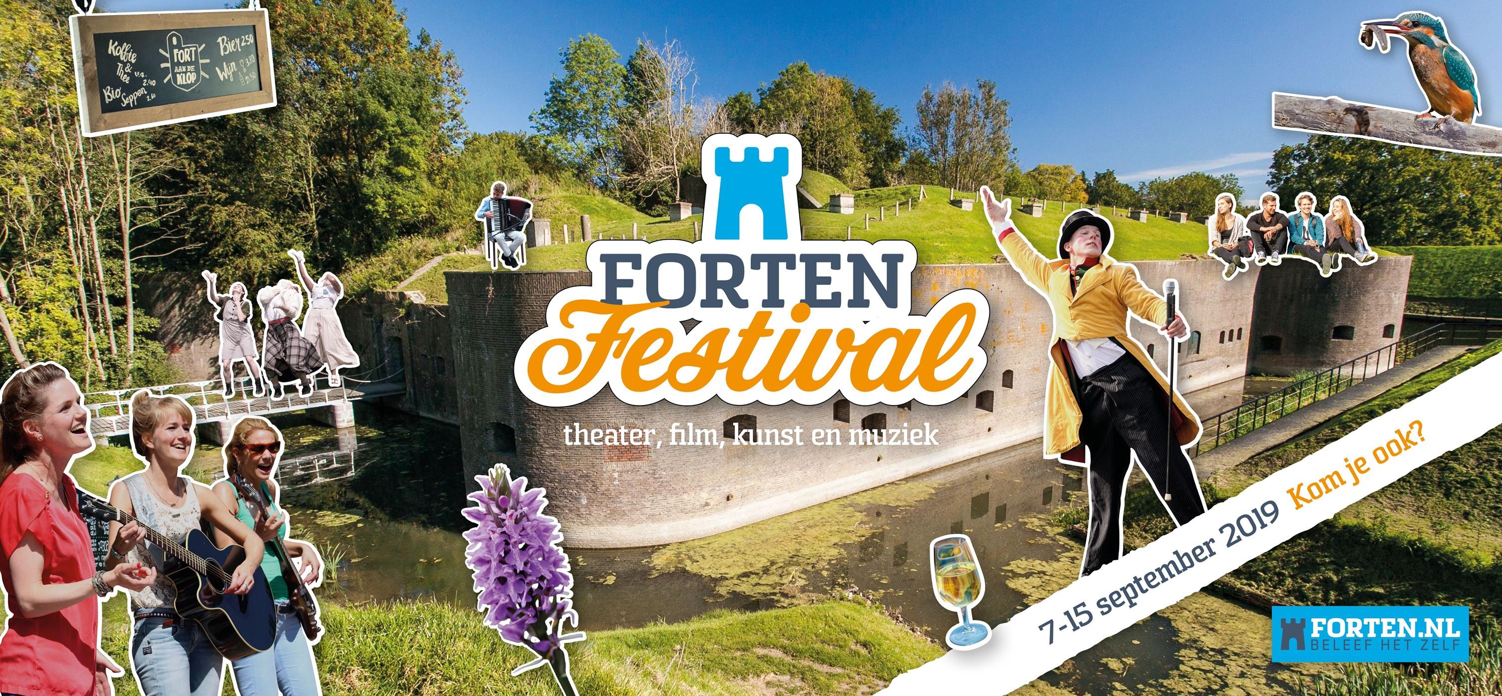 pampus en fortenfestival