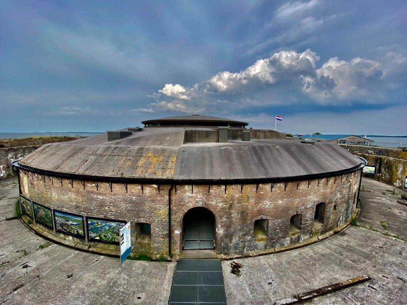Fort Pampus vanaf de westzijde gezien, foto Mario Nap
