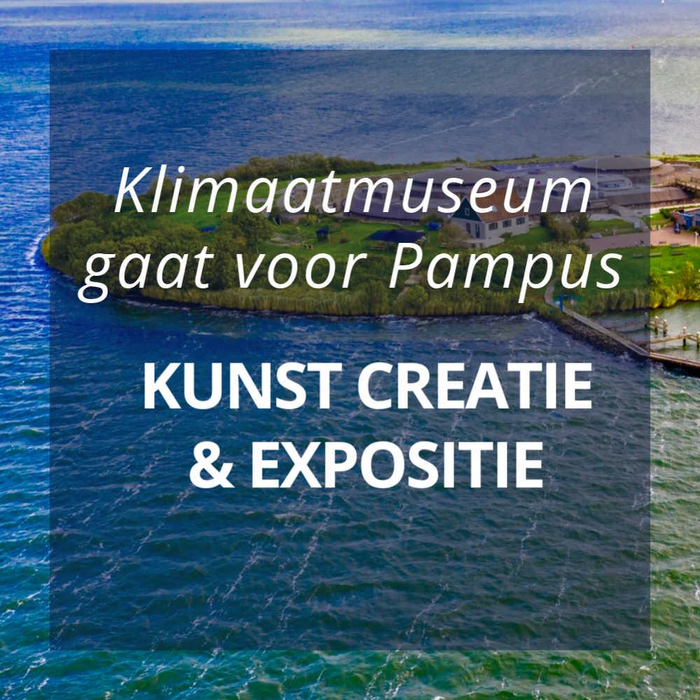 Klimaatmuseum gaat voor Pampus met kunst creatie en expositie