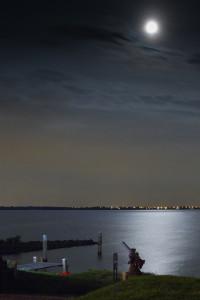 Pampus bij maanlicht (c) Suzan Baars