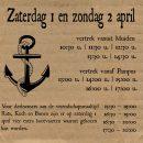 boottijden 1 en 2 april 2017