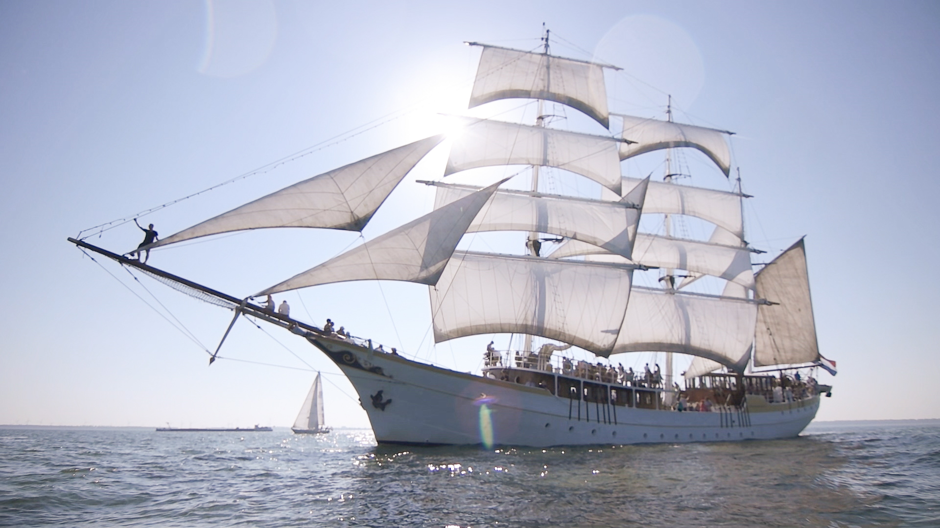 Ontdek Forteiland Pampus met zeilschip Stedemaeght