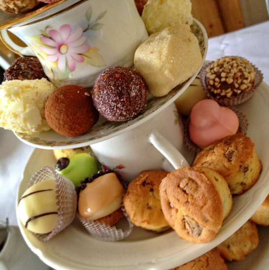 Moederdag op Pampus - High tea, mama & me!