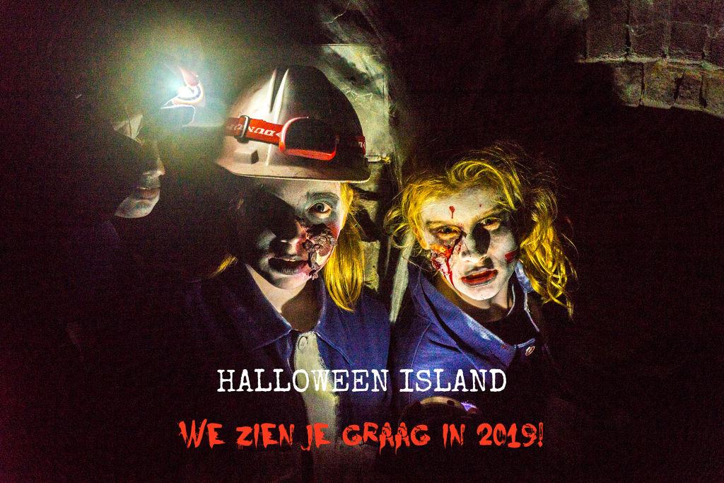 Halloween Island op forteiland Pampus