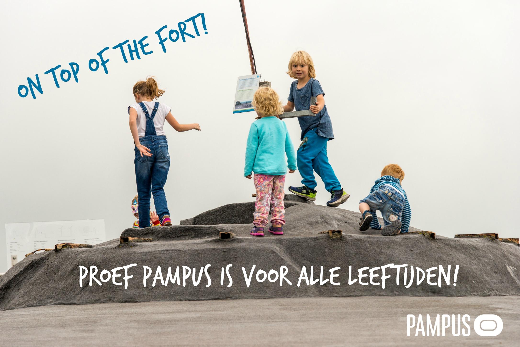 Proef Pampus is leuk voor alle leeftijden. Leuk voor kids, leuk voor oudjes, leuk voor iedereen.