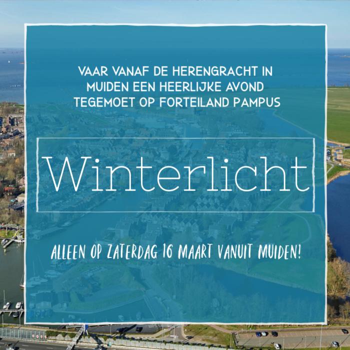 Winterlicht - Muidense afvaart op 16 maart!