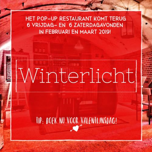 Nieuw: Winterlicht op Valentijnsdag!