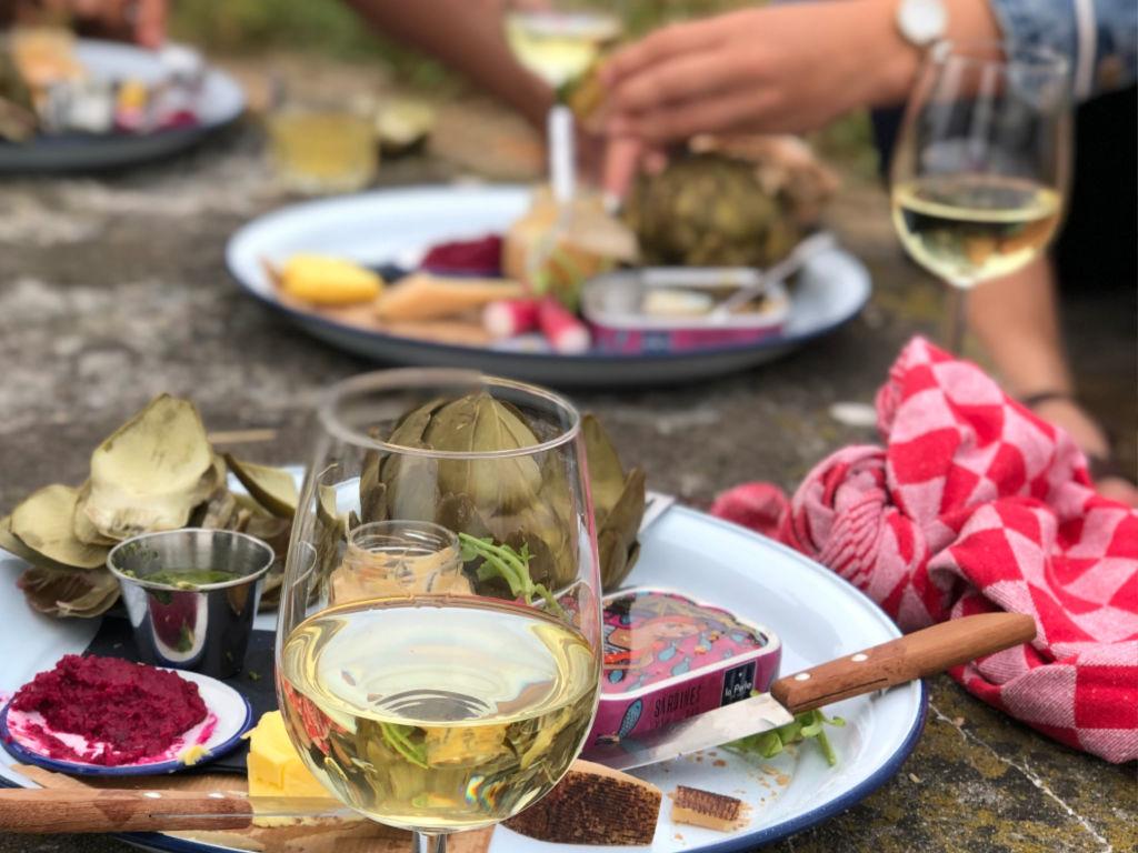 zomerlicht witte wijn